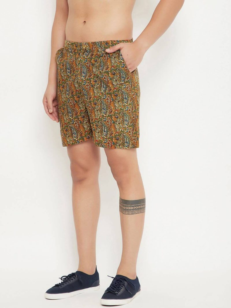 Kaala Teeka | Printed Cotton Shorts