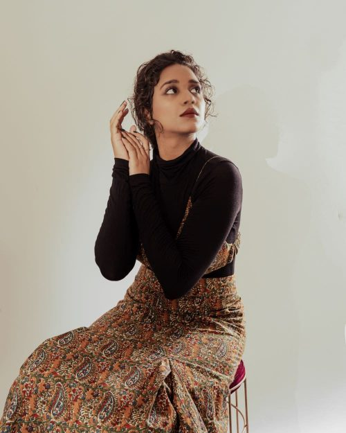 Kaala Teeka | The Old Fashioned Look with Bralette and Long Skirt ( set of 2)